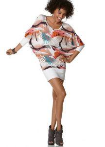 Выкройка платья — туники летучая мышь (Шитье и крой)