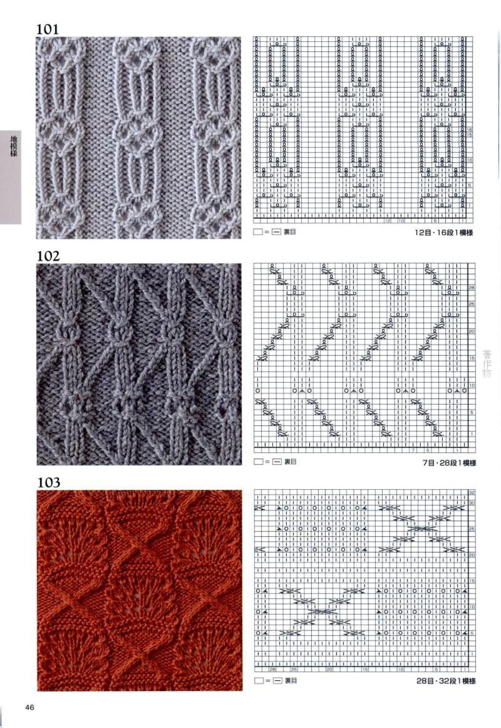 Каталог вязаных спицами узоров узоров для вязания на спицах ирландские 88