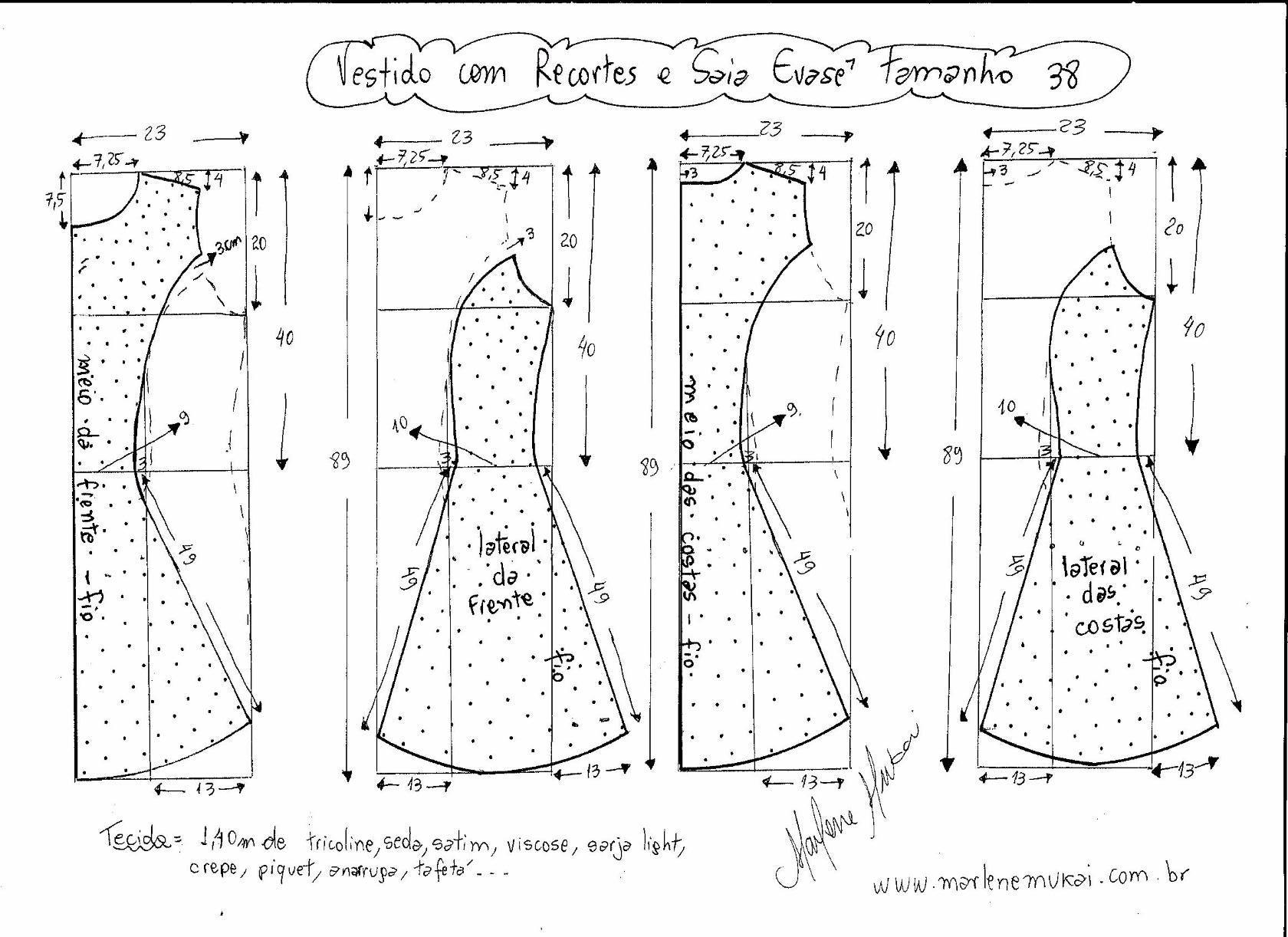Выкройка летнего платья 48 размера чтобы сшить самой 13