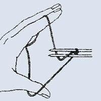 «Турецкий» набор петель спицами ( Уроки и МК по ВЯЗАНИЮ)
