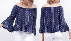 Выкройка блузки простого кроя (Шитье и крой)