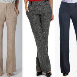 Выкройка брюк женских —  размер 36-56 (Шитье и крой)