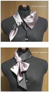 Выкройка французской косынки на шею (Шитье и крой)