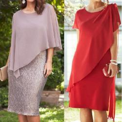 Выкройка коктельного платья для пышных дам (Шитье и крой)