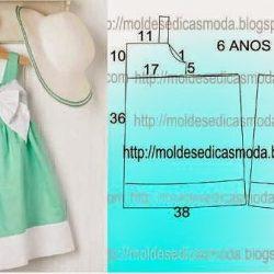 Выкройки платьев для девочек 6-ти лет (Шитье и крой)