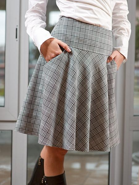 Бесплатные выкройки юбка на кокетке