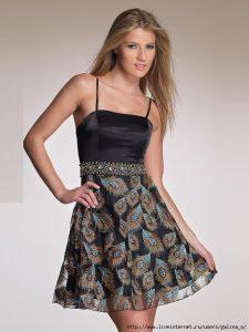 Выкройка платья на бретельках. Размер 36-52 (Шитье и крой)