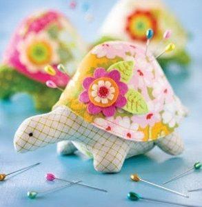 Игольница-черепаха (Шитье и крой)