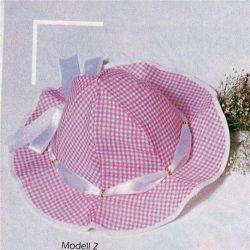 Шьем летние панамки для малышек. Выкройки (Шитье и крой)