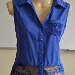 Выкройка блузки без рукавов (Шитье и крой)