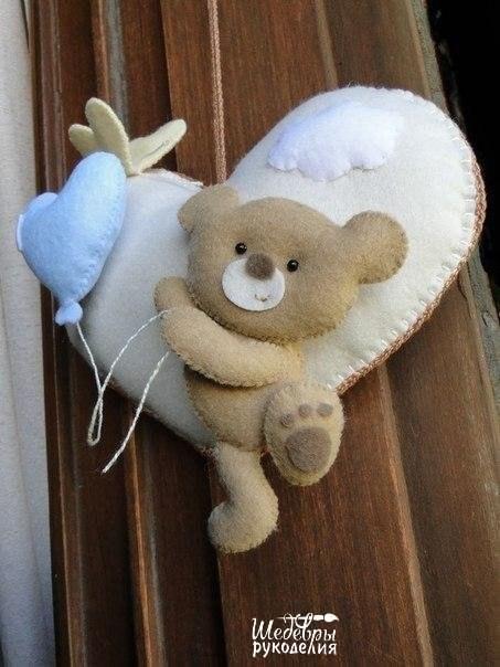 Выкройки мишек из ткани своими руками (Шьем игрушки) Журнал Вдохновение Рукодельницы