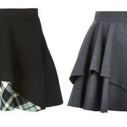 Выкройка юбки размеры с 36 по 52 размер Евро (Шитье и крой)