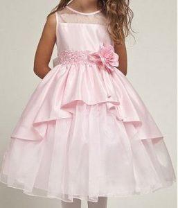 Нарядное платье для девочки с ассиметричным подолом, выкройки от 1 до 14 лет (Шитье и крой)