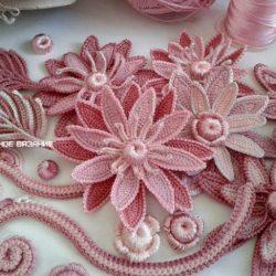 Цветок лотоса крючком (Вязаные цветы)