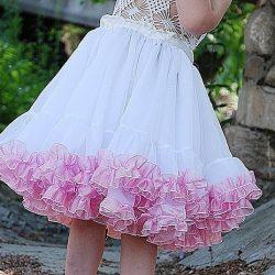 Пышная юбка для девочки (Шитье и крой)