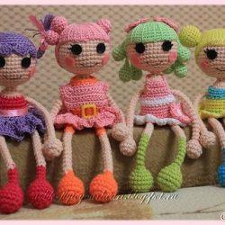 Вяжем куколку Лалалупси крючком (Вязаные игрушки)