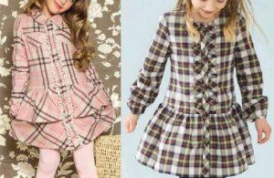 Платье для девочки с длинными рукавами от 1 до 14 лет (Шитье и крой)