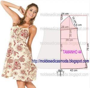 Выкройки летних платьев (Шитье и крой)