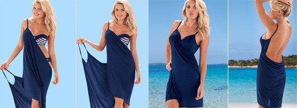 Платье пляжное своими руками