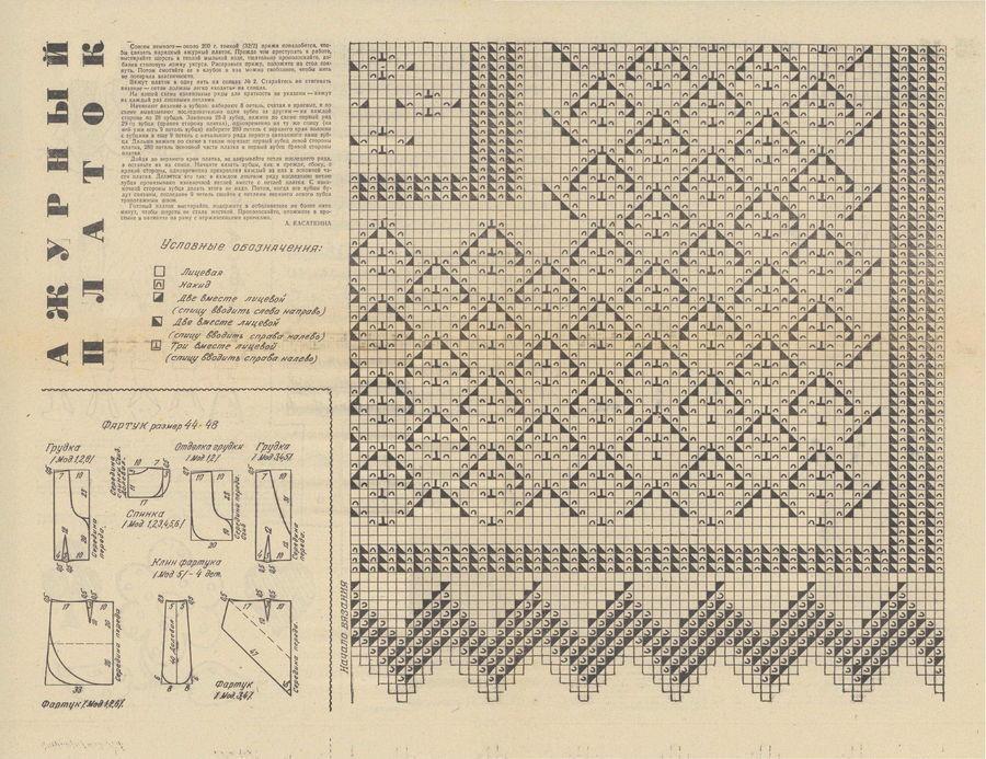 Оренбургский пуховый платок вязание спицами
