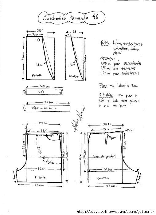 Выкройки шорт из старых джинсов своими руками