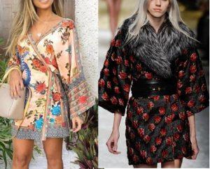 Выкройка платья-кимоно, размеры евро  36-56 (Шитье и крой)
