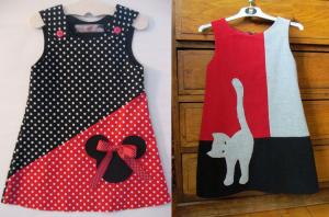 Выкройка платья-трапеция для девочки размеры от 3 мес до 14 лет (Шитье и крой)