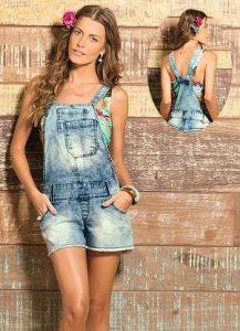 Выкройка летнего джинсового комбинезона (Шитье и крой)