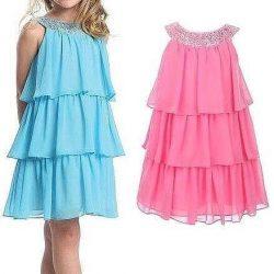 Выкройка воздушного летнего платья для девочки от 1 до 6 лет (Шитье и крой)