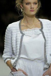 Жакетик Dolce Gabbana (Вязание крючком)