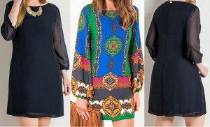 Выкройка женского платья размеры евро  36-56 (Шитье и крой)