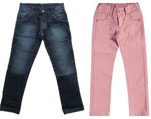 Выкройка детских джинсов на возраст от 6 мес — 14 лет (Шитье и крой)