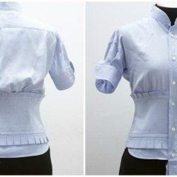 Необычная переделка рубашки. Мастер-класс (Шитье и крой)