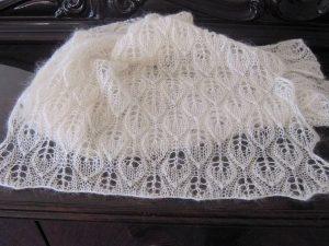 Красивый узор для вязания шали (Вязание спицами)