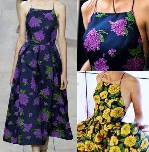 Выкройка летнего платья на бретелях размеры евро от 36 до 56 (Шитье и крой)