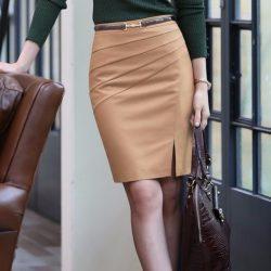 Выкройка прямой юбки.Размеры 36-56 (Шитье и крой)