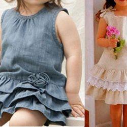 Детское платье. Выкройки от 1 до 10 лет (Шитье и крой)