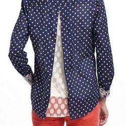 Переделка мужских рубашек в женственные блузы (Шитье и крой)