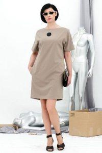Красивое с цельнокроеным рукавом платье (Шитье и крой)