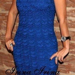 Красивое платье крючком. Схемы вязания (Вязание крючком)