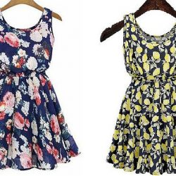 Выкройка простого летнего платья (Шитье и крой)