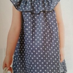 Воздушное платье для девочки.Размеры на возраст от года до 14 лет (Шитье и крой)