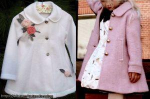 Выкройка пальто для девочки от 1 года до 14 лет (Шитье и крой)
