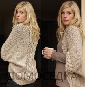 Красивый вязаный шраг от Melissa Schaschwary (Вязание спицами)