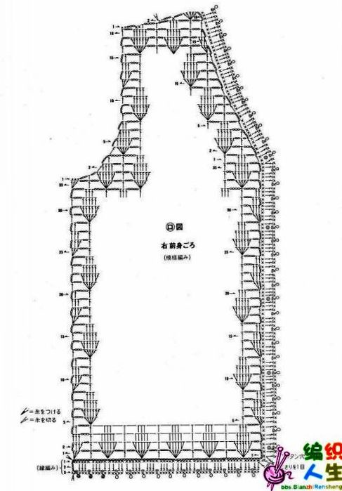 Схема вязания спицами детских шапочек