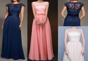 Выкройка вечернего платья с японским рукавом. Размер 36 — 50 (Шитье и крой)