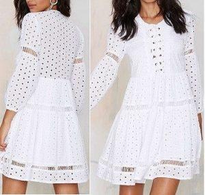 Выкройка летнего романтичного платья, размеры евро  36-56 (Шитье и крой)