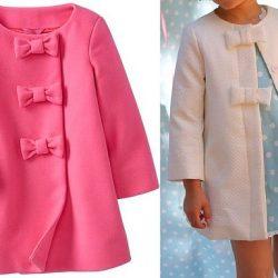 Выкройка детского летнего пальто для девочки на возраст от 1 года до 14 лет (Шитье и крой)