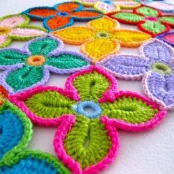Гавайский цветок крючком — мастер-класс (Уроки и МК по ВЯЗАНИЮ)