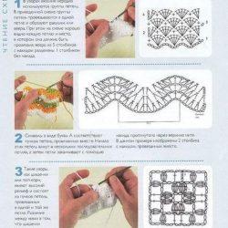 Чтение схем крючком (Уроки и МК по ВЯЗАНИЮ)